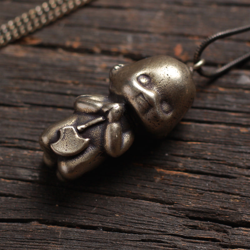 Armed Berserker Baby Necklace