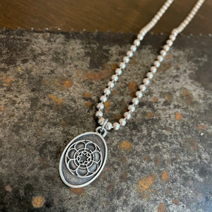 Mandala Necklace - Heyltje Rose Shop