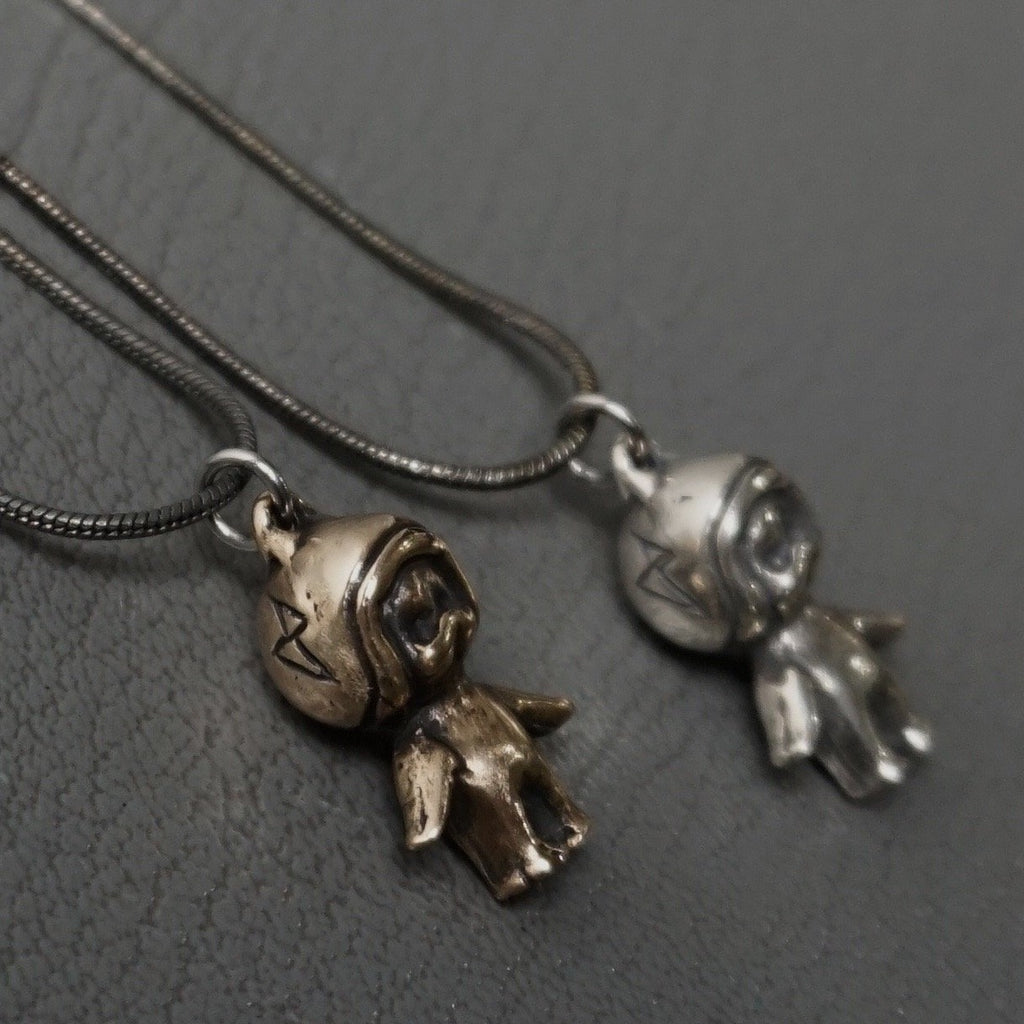 Moto-Baby-helmet-kewpie-necklaces-  Heyltje Rose Shop