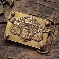 Saint Christopher Wings Belt Buckle - Heyltje Rose Shop