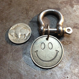 funny Keychain smiley face front - Heyltje Rose Shop