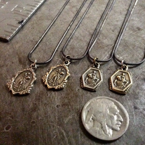 Tiny Saint Christopher Necklace
