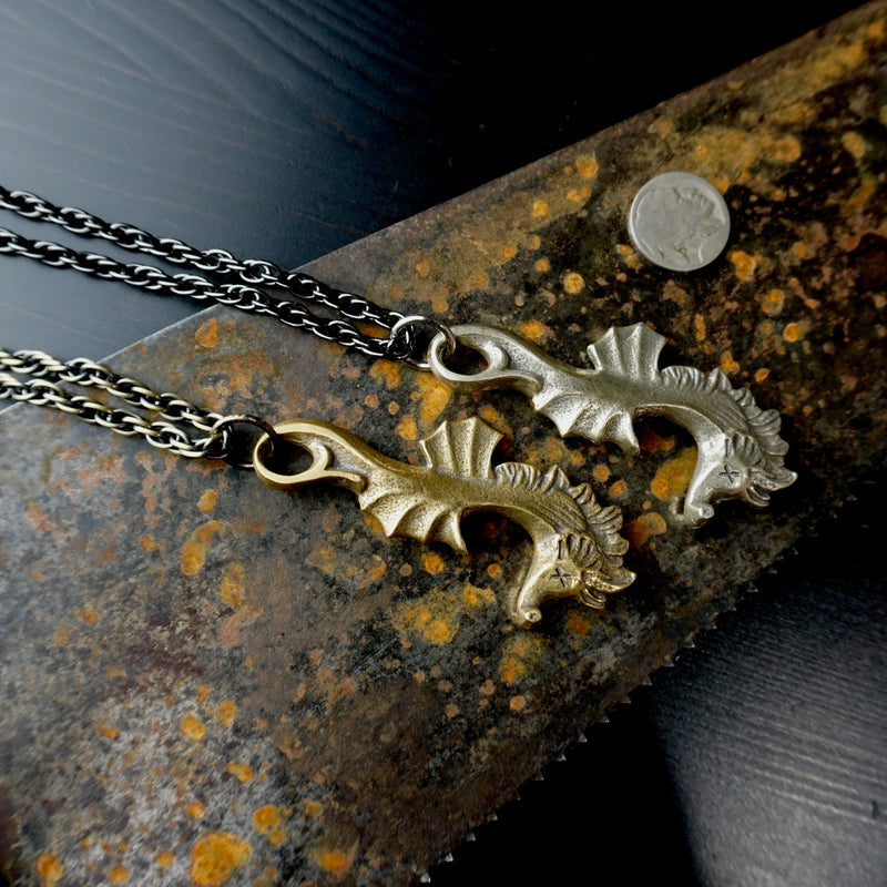 Seahorse Bottle Opener Necklace - Heyltje Rose Shop