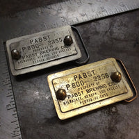 PBR Cast Buckle