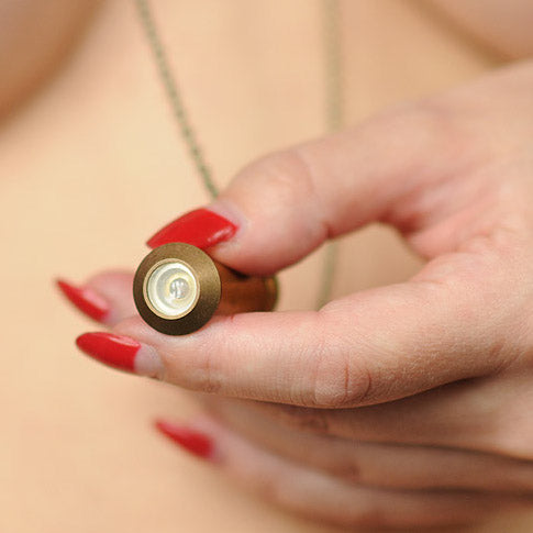 Peep Hole Necklace