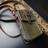 Vintage Army Green Side Bag