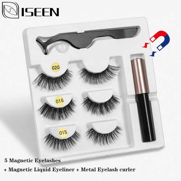 Magnet Eyelashes and Eyeliner Kit