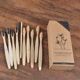 Eco-friendly Bamboo Toothbrush for Adults