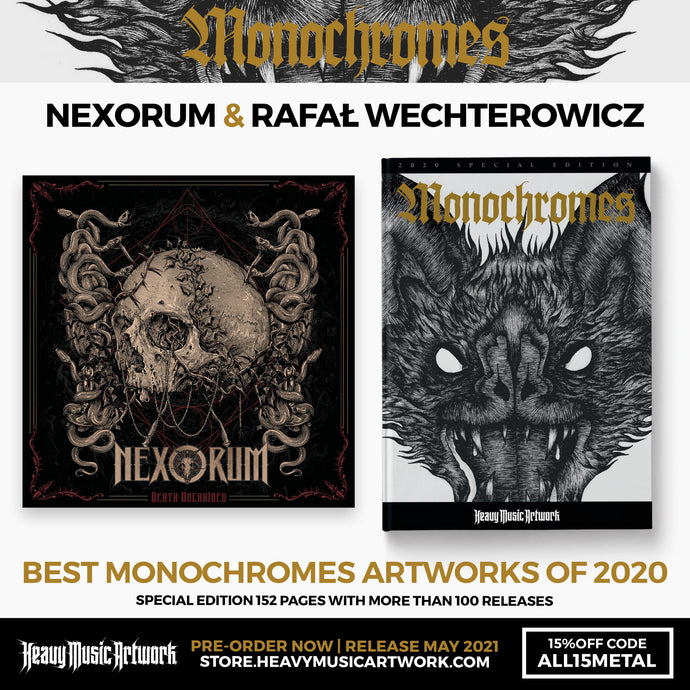 "Nexorum will be included in the book ""Monochromes 2020""!"