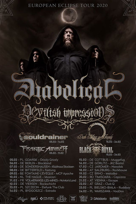 Devilish Impressions European tour.