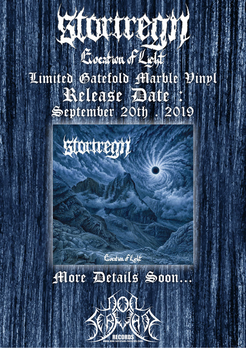 "STORTREGN ""Evocation of Light"" out September 20, 2019"