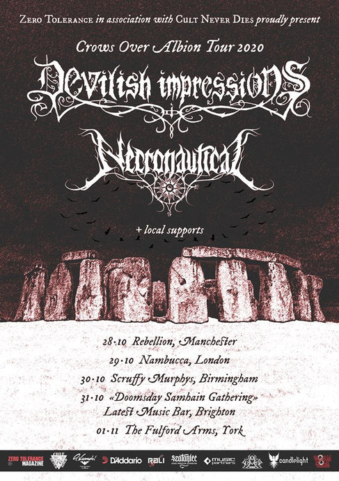 DEVILISH IMPRESSIONS UK tour announcement!
