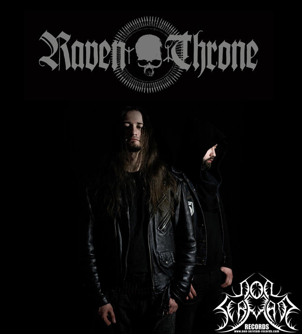 Raven Throne signs at Non Serviam Records!