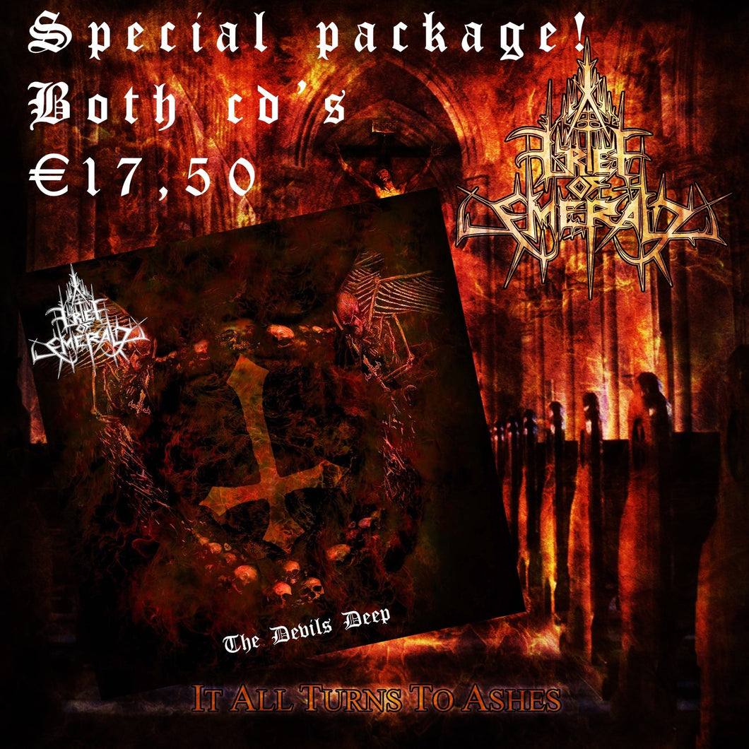 Grief of Emerald  CD package