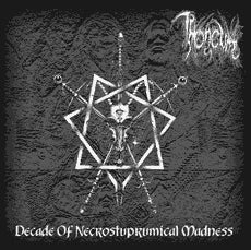 Throneum ‎– Decade Of Necrostuprumical Madness (digipak)