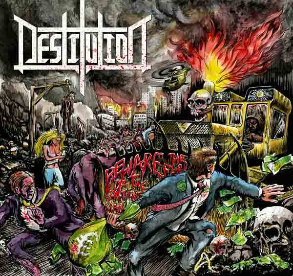 Destitution - Beware the Fury of the Patient Man (digipak)