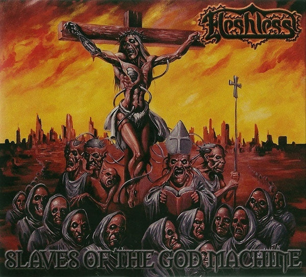 Fleshless ‎– Slaves Of The God Machine (digipack)