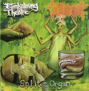 Embalming Theatre / Torture Incident ‎– Split-Organ
