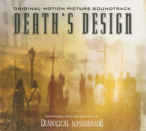 Diabolical Masquerade ‎– Death's Design - Original Motion Picture (digipack)
