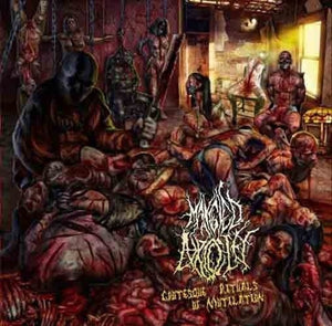 Mangled Atrocity ‎– Grotesque Rituals Of Mutilation