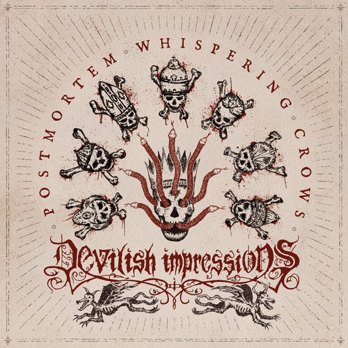 Devilish Impressions - Postmortem Whispering Crows (Digipak)