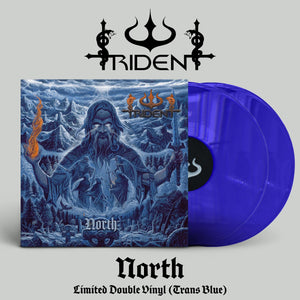 Trident - North (double Trans Blue) PRE-ORDER
