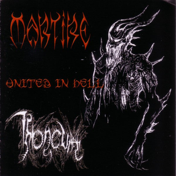 Martire / Throneum ‎– United In Hell