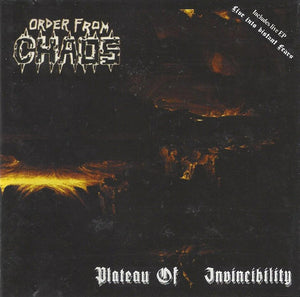Order From Chaos ‎– Plateau Of Invincibility