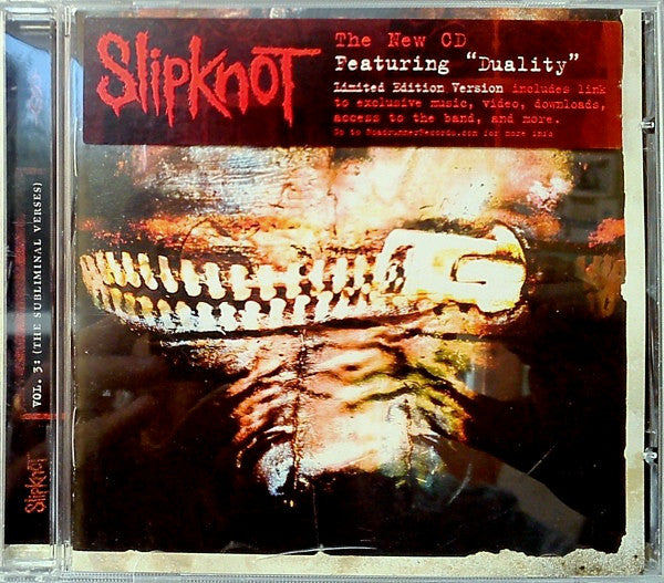 Slipknot ‎– Vol. 3- (The Subliminal Verses)