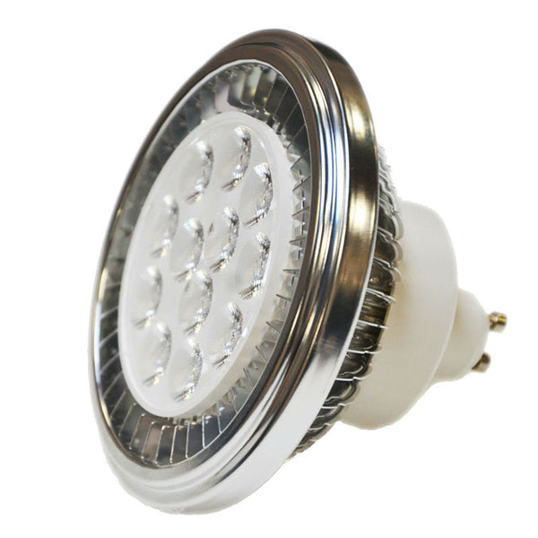 LED AR111 GU10 Spotlight QR111 Light Bulb 15W 90-240V 2700K/4000K 30Deg