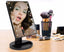 Professional 22 LED Makeup Mirror Light Portable Rotation Vanity Lights Lamp Touch Bright Adjustable USB Or Battery Use Black