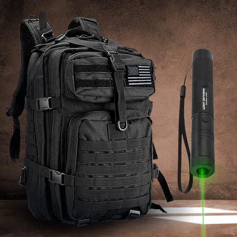 Backpack + Light Defender Laser Combo
