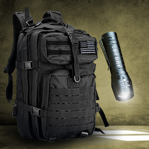 Backpack + Light Saver Combo
