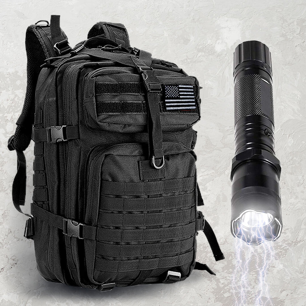 Backpack + Shockwave Torch Combo