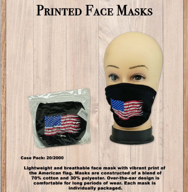 American Flag Masks