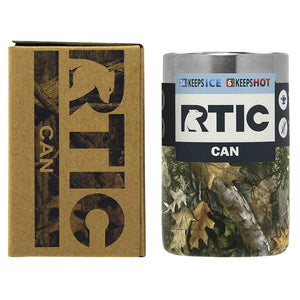 RTIC Camo Can Koozie 12oz