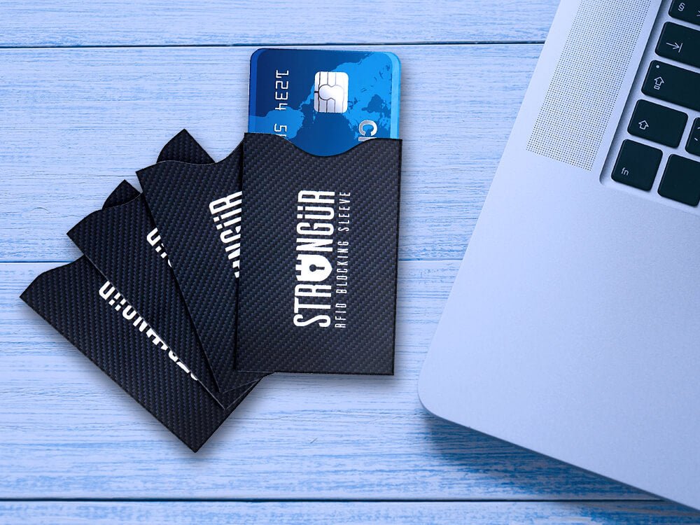 Strongur RFID Wallet - 4 Pack