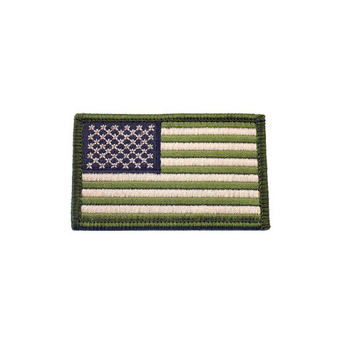 Image of USA Flag Patches