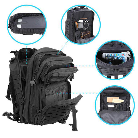 40L Elite Tactical Backpack