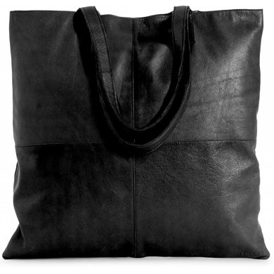 Show Large oversize strikke shopper