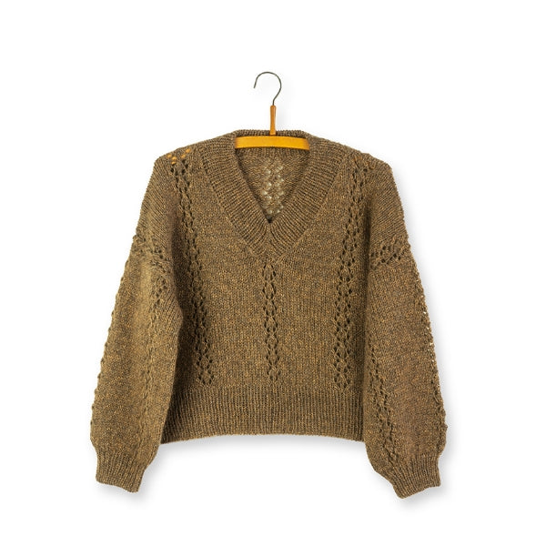 Opskrift til Crystal Sweater
