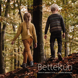 Bettekun - børnestrik 1-5 år
