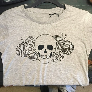 Yarn & Roses T-Shirt lady fit // Deadly Daisies