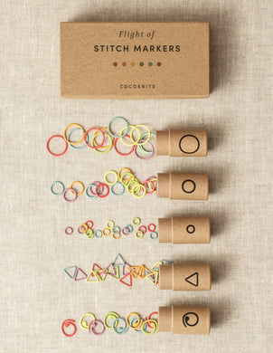 Flight of Stitch Markers - maskemarkører