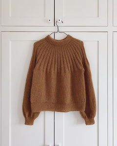 Opskrift til Sunday Sweater - mohair edition