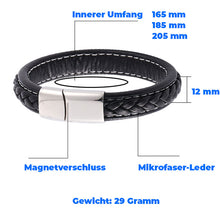 Laden Sie das Bild in den Galerie-Viewer, BULL-Design Herrenarmband in 3 Farben