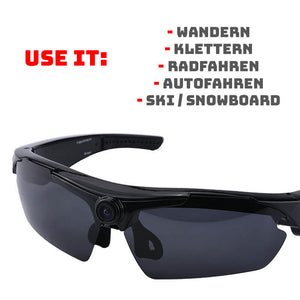 OUTDOOR BRILLE MIT FULL HD KAMERA
