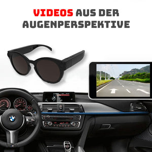 SPY-BRILLE MIT HD KAMERA