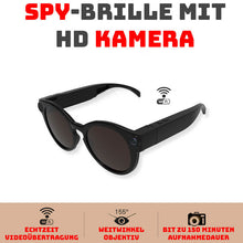 Laden Sie das Bild in den Galerie-Viewer, SPY-BRILLE MIT HD KAMERA