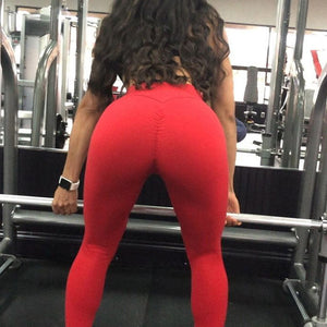 High Waist Push Up Elastic Casual Workout Fitness Sexy Pants Bodybuilding Legging Clothing - Robes